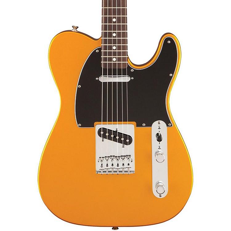 FenderStandard Telecaster Satin Electric GuitarBlaze GoldRosewood Fingerboard