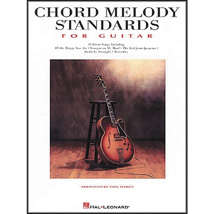 Hal Leonard Standards for Guitar Chords & Melody