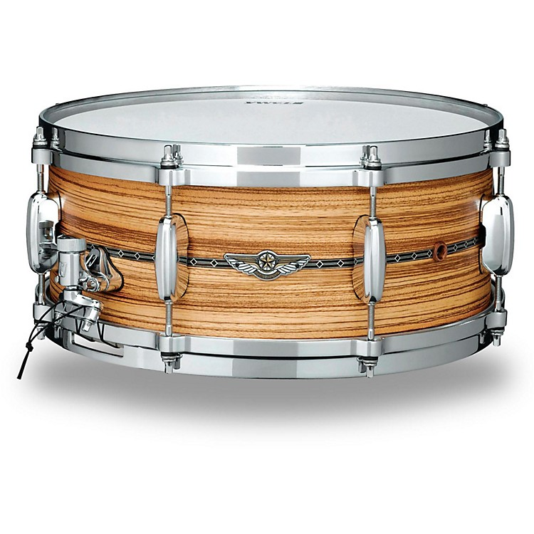 Tama Star Series Solid Zebrawood Snare Drum 14 x 6 in.
