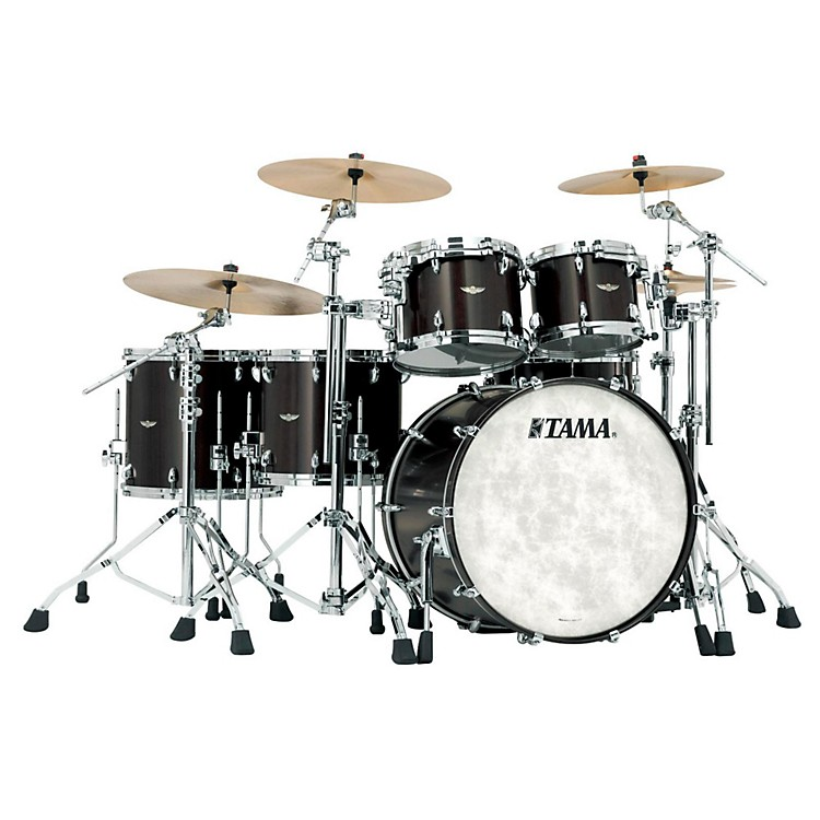 Tama Star Walnut 5-Piece Shell Pack Satin Black Walnut