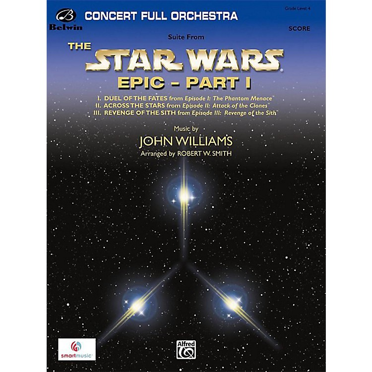 BELWINStar Wars Epic Part I, Suite from the Grade 4