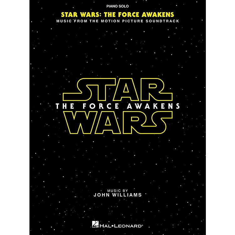 Hal Leonard Star Wars Episode VII – The Force Awakens Piano Solo Songbook