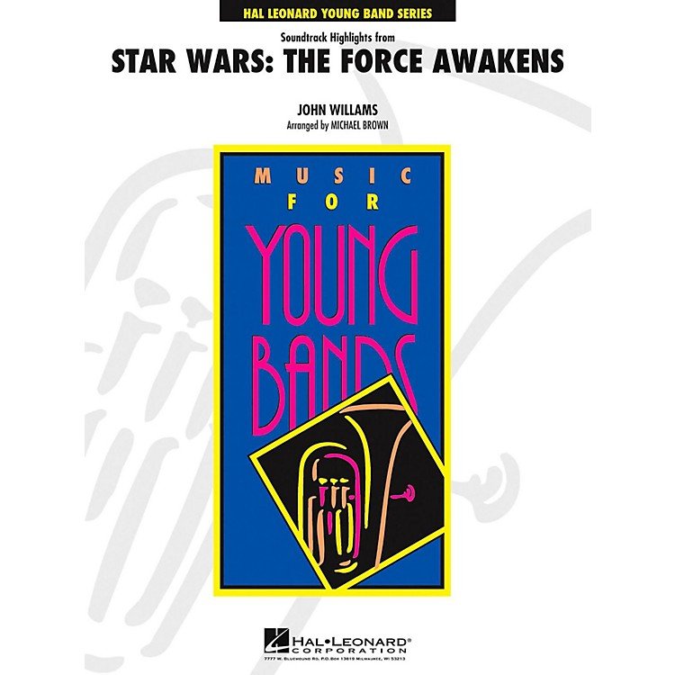 Hal Leonard Star Wars: The Force Awakens Concert Band Level 4 by Jay Bocook