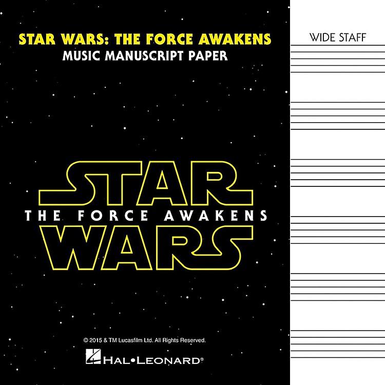 Hal LeonardStar Wars: The Force Awakens Manuscript Paper