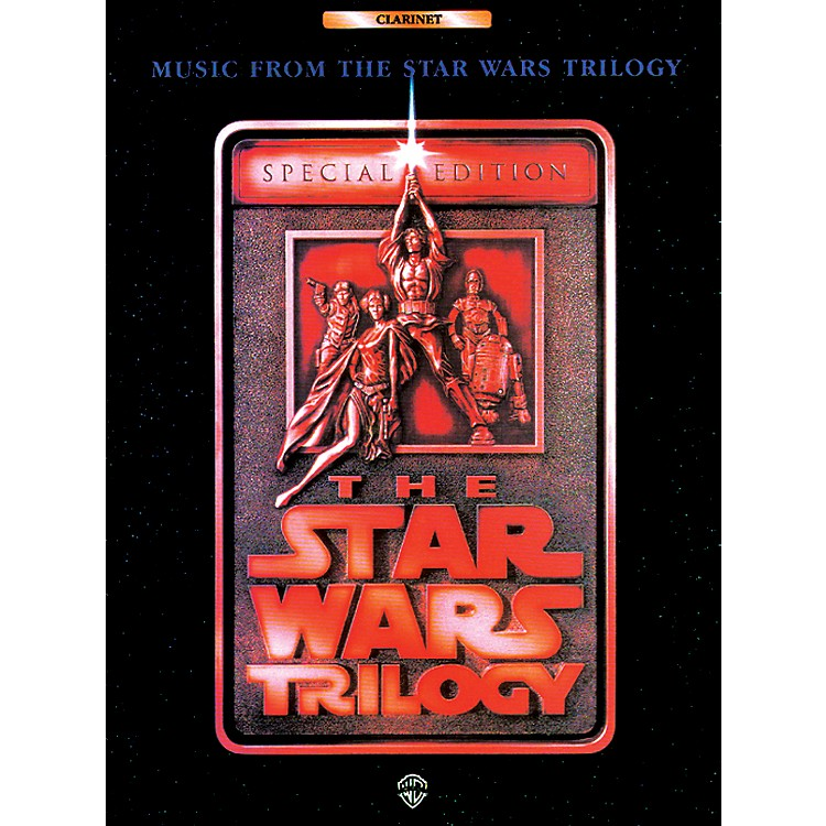 Alfred Star Wars Trilogy for Clarinet Book