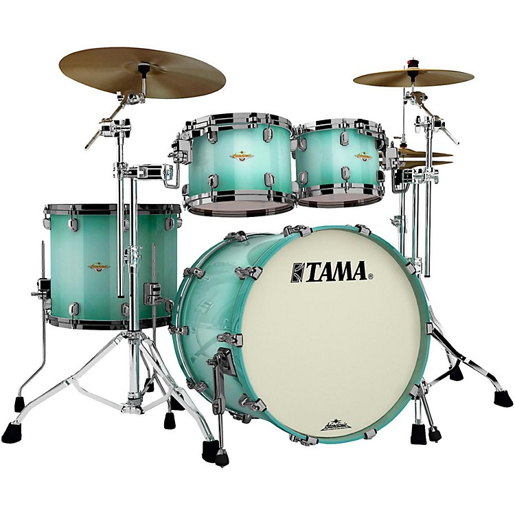 Tama Starclassic Bubinga 4-Piece Shell Pack Light Jade Burst