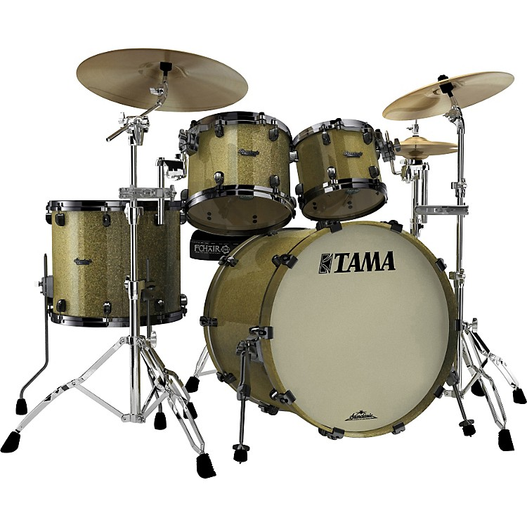 Tama Starclassic Maple 4-Piece Shell Pack Vintage Gold Sparkle