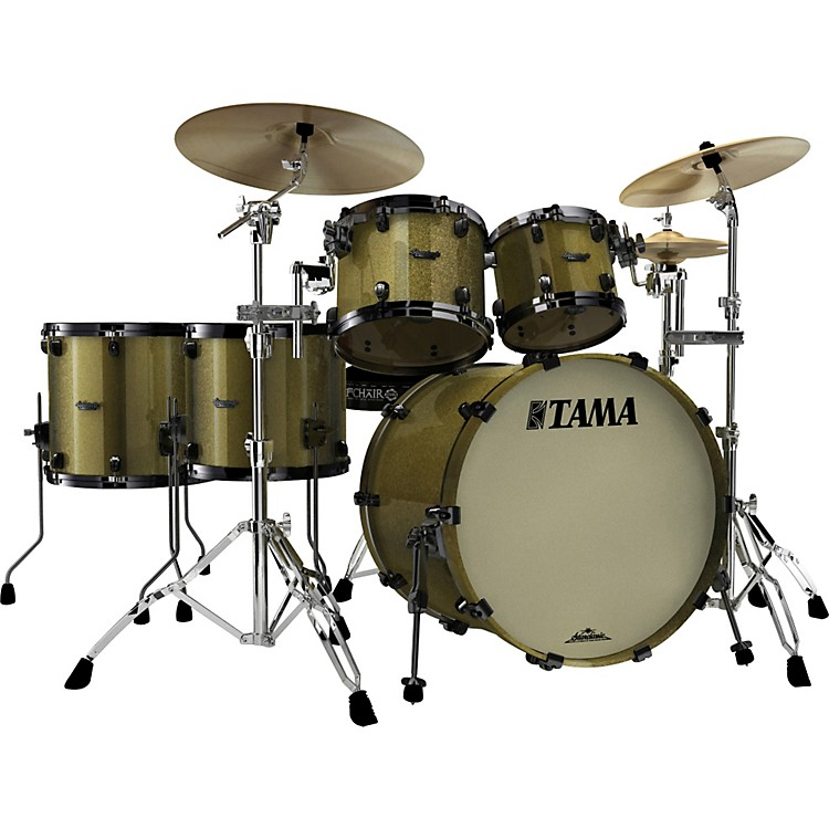 Tama Starclassic Maple 5-Piece Shell Pack Vintage Gold Sparkle
