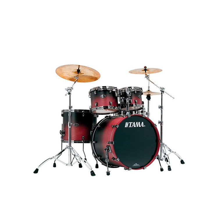 Tama Starclassic Performer B/B 4-Piece Shell Pack Satin Raspberry
