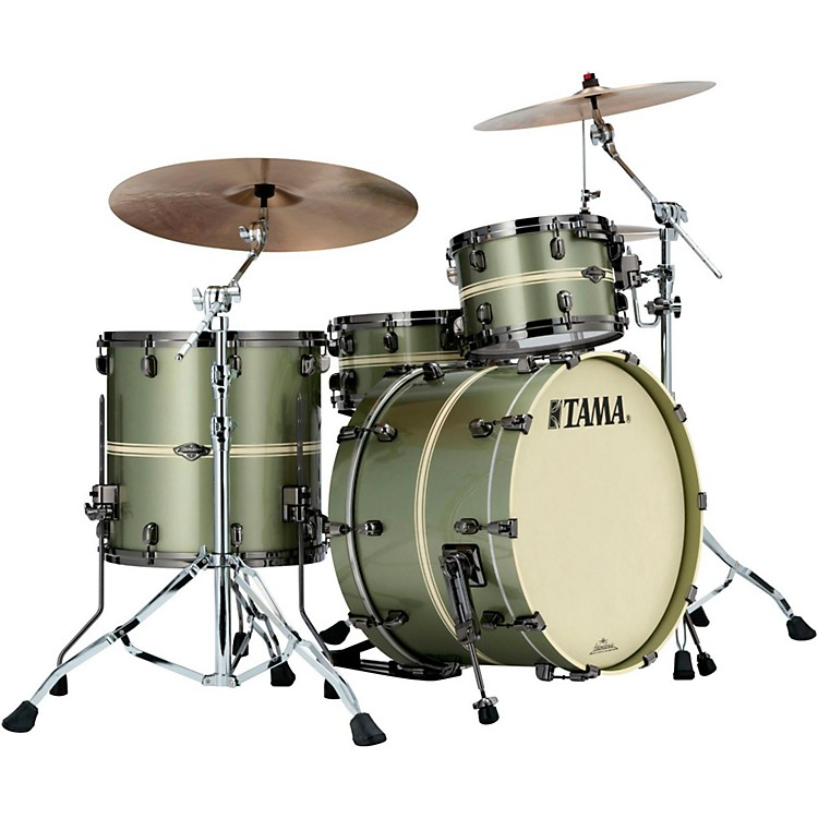 Tama Starclassic Performer B/B Limited Edition 3-Piece Shell Pack Tempest Green