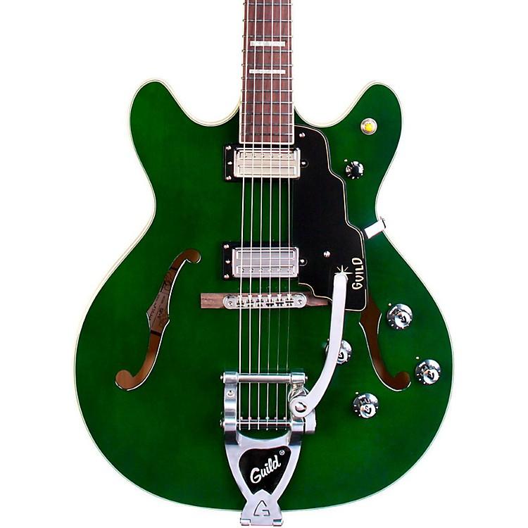 GuildStarfire V Maple Semi Hollow Electric GuitarEmerald Green