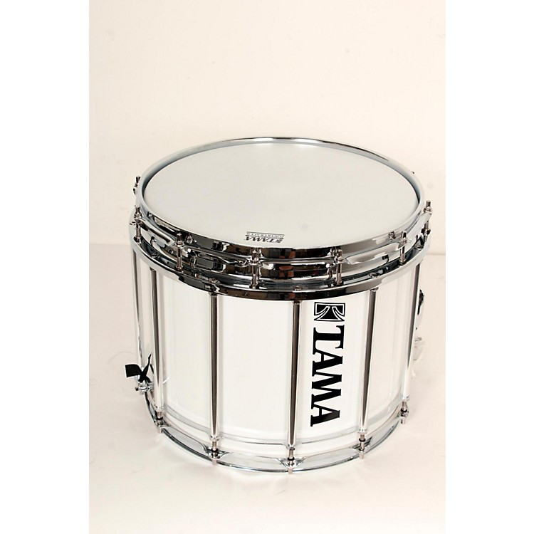 Tama Marching Starlight Marching Snare Drum 14 x 12 in., Sugar White 888365727639