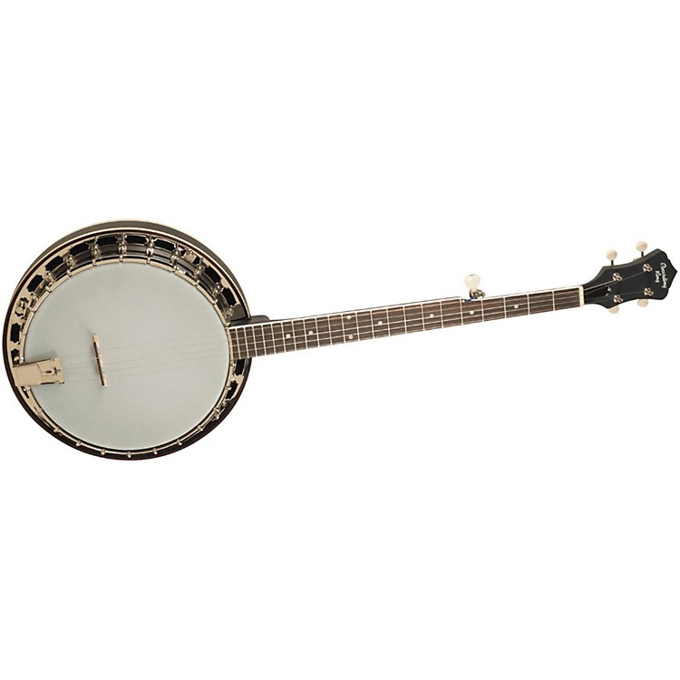Recording King Starlight Series Resonator Banjo Midnight