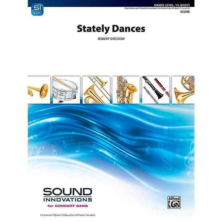 AlfredStately Dances Concert Band Grade 1.5 (Easy)