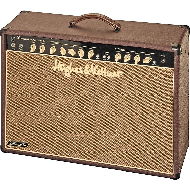 Hughes & KettnerStatesman Series STM Dual 6L6 60W 2x12 Tube Guitar Combo AmpBurg