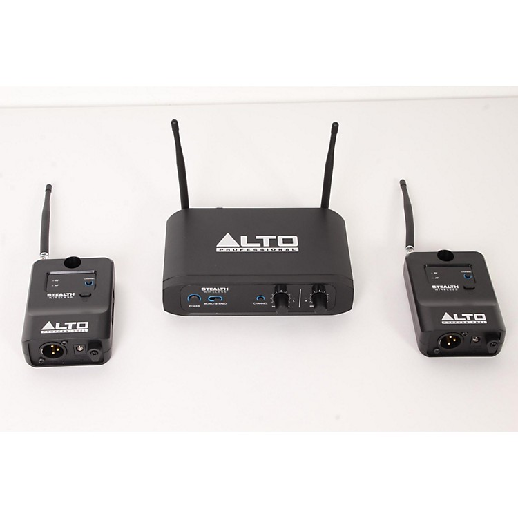 Alto Stealth Wireless - Stereo Wireless System for Active Loudspeakers  888365842998