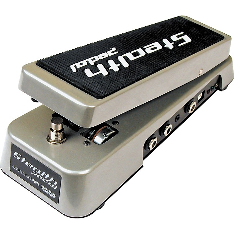 IK MultimediaStealthPedal USB-Powered Guitar Audio Interface/Software Controller for AmpliTube Software