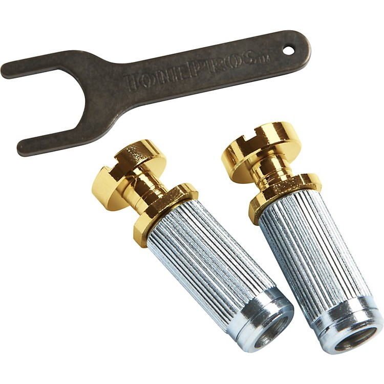 TonePros Steel Vintage Locking Studs with U.S. Thread
