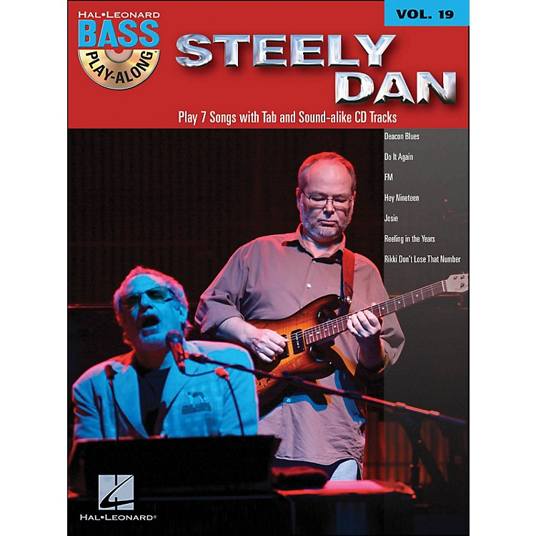 Hal Leonard Steely Dan - Bass Play-Along Volume 19