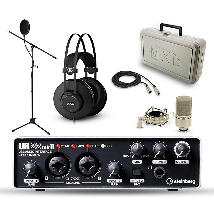 Steinberg Steinberg UR-22mkII, MXL 990 and AKG K52 Package