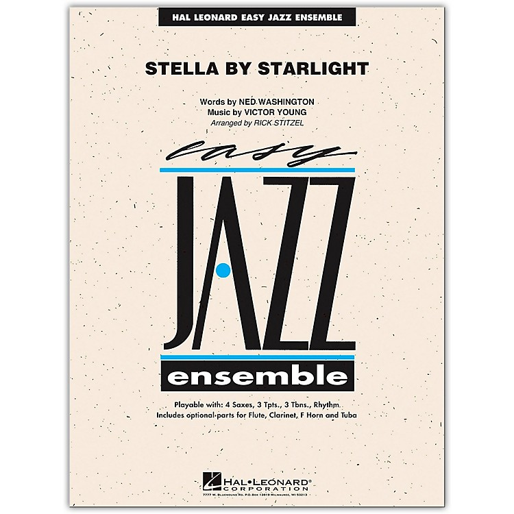 Hal Leonard Stella By Starlight - Easy Jazz Ensemble Series Level 2