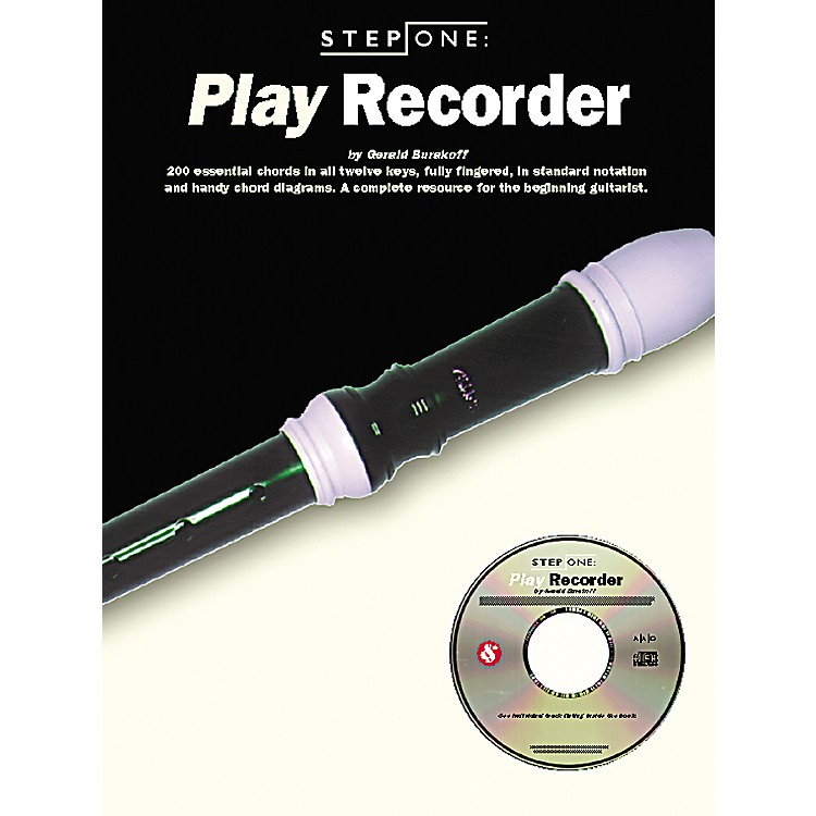Music SalesStep One: Play Recorder (Book/CD)