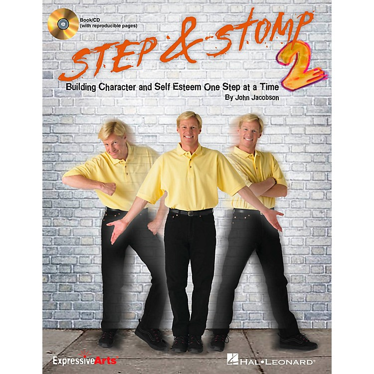 Hal LeonardStep & Stomp 2 - Building Character and Self Esteem One Step at a Time Classroom Kit