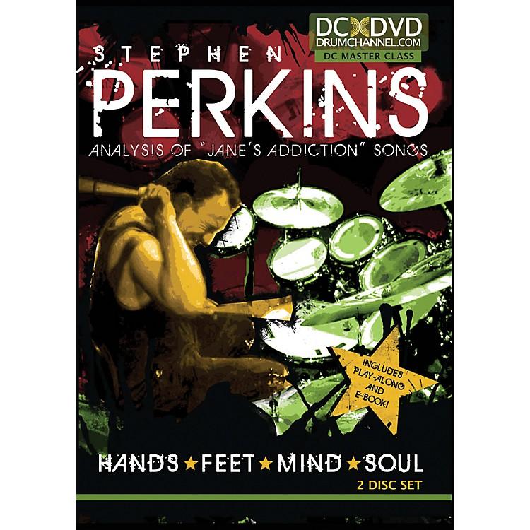 The Drum ChannelStephen Perkins Hands Feet Mind Soul 2 DVDs