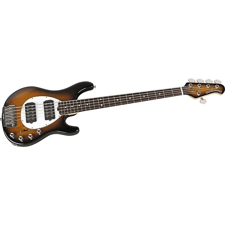 Music Man Sterling 5 HH Bass Black Rosewood Fretboard