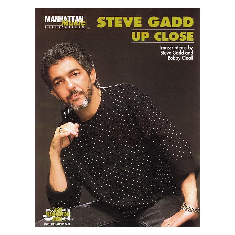 AlfredSteve Gadd Up Close (Book/CD)