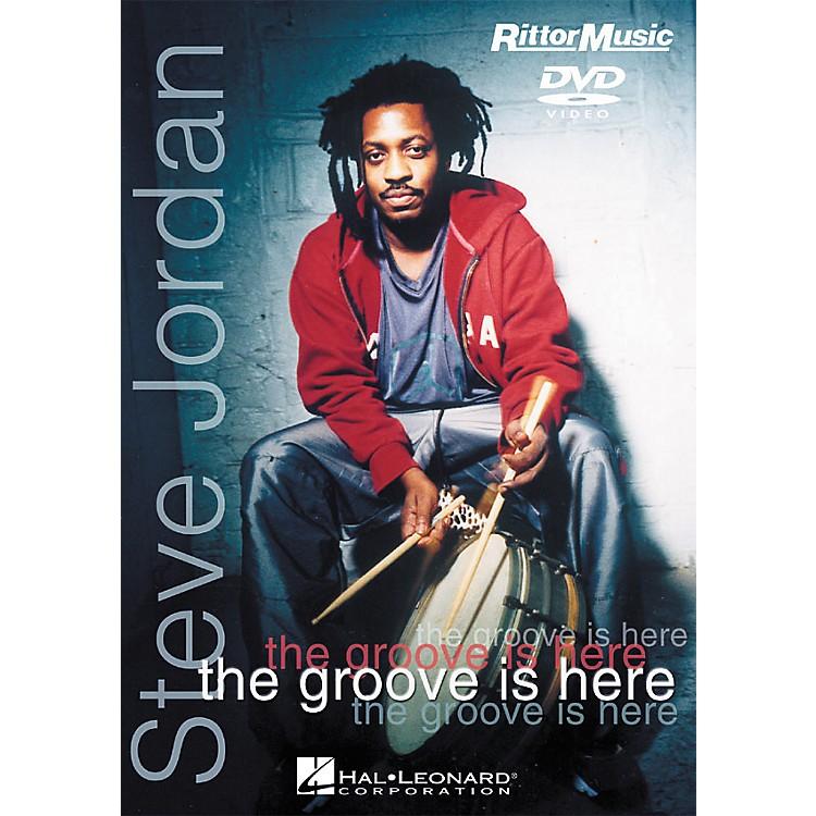 Hal LeonardSteve Jordan - The Groove is Here (DVD)