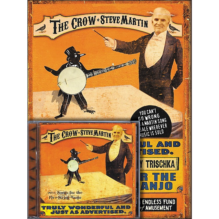 Homespun Steve Martin - The Crow Tablature Book/CD Combination Pack