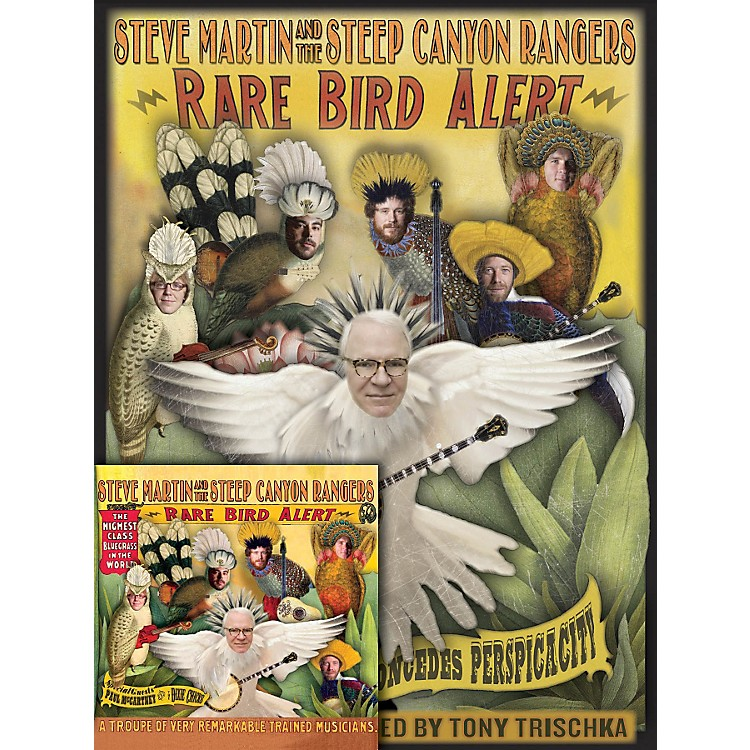 HomespunSteve Martin Rare Bird Alert Book/CD Bundle