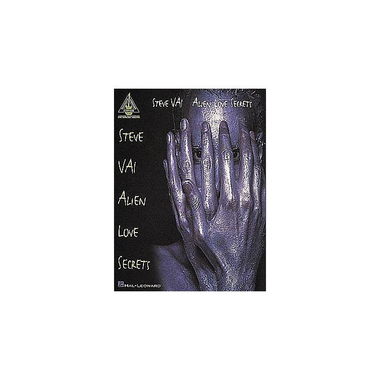 Hal LeonardSteve Vai Alien Love Secrets Guitar Tab Songbook