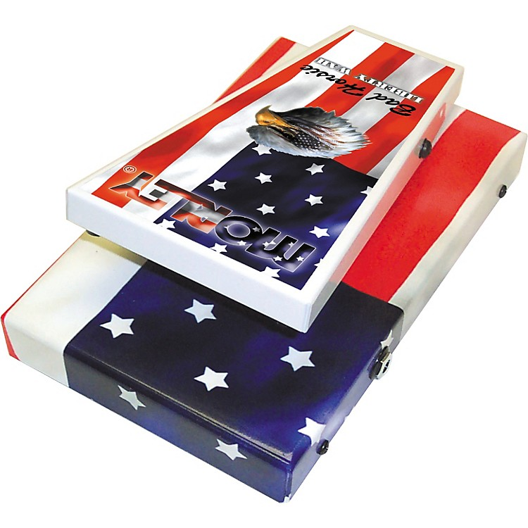 Morley Steve Vai Liberty Wah Guitar Effects Pedal American Flag