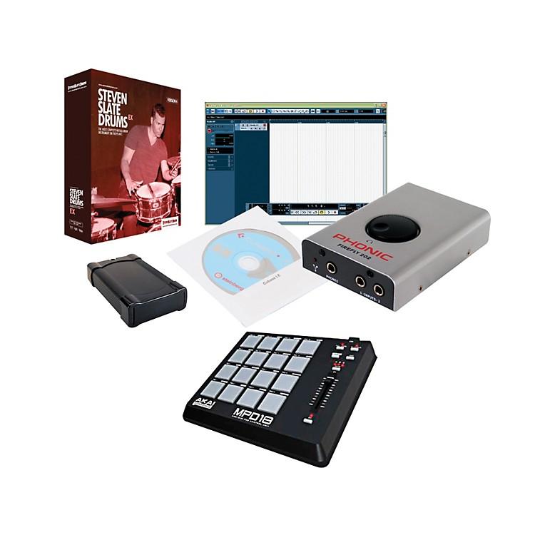 PCAudioLabsSteven Slate Firewire Drum Package