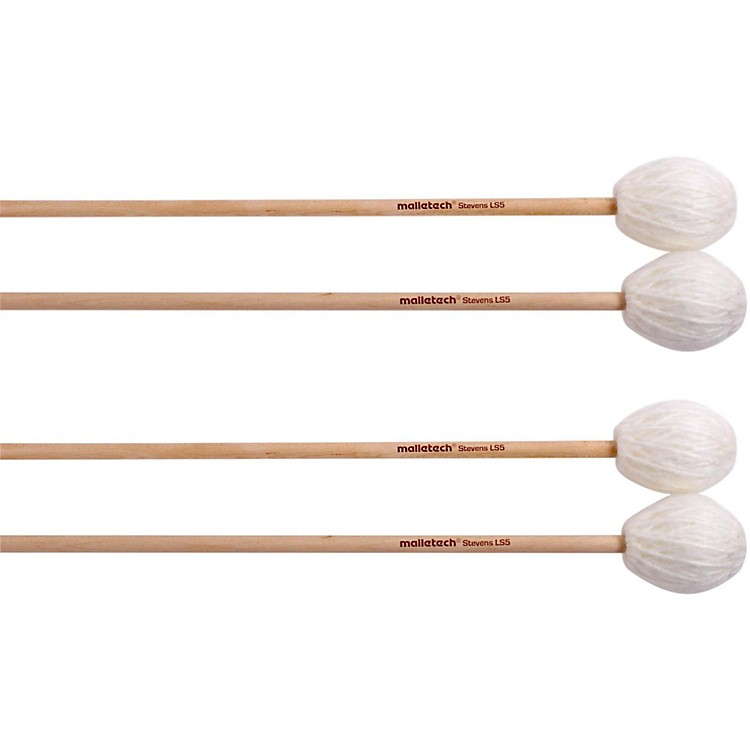Malletech Stevens Marimba Mallets Set of 4 (2 Matched Pairs) 5
