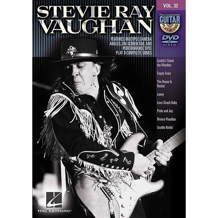 Hal Leonard Stevie Ray Vaughan - Guitar Play-Along DVD Volume 32