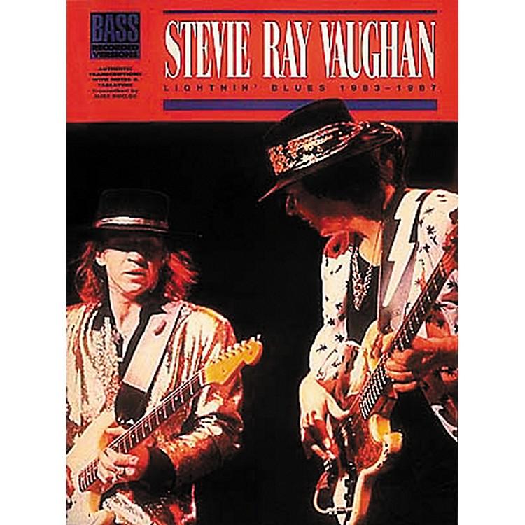 Hal LeonardStevie Ray Vaughan - Lightnin Blues 1983 - 1987 Bass Tab Songbook