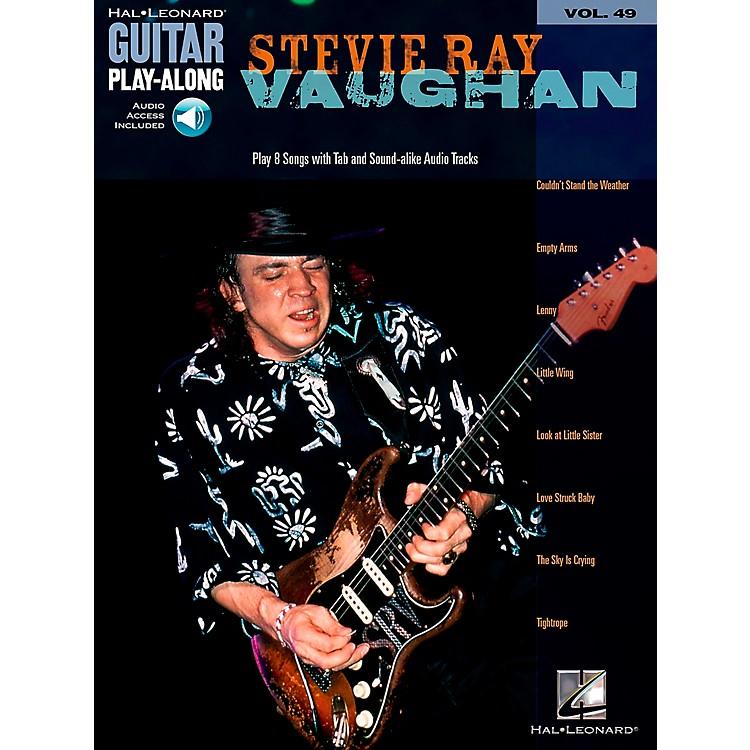Hal LeonardStevie Ray Vaughan Guitar Play-Along Series Volume 49 Book with CD