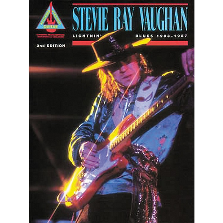 Hal Leonard Stevie Ray Vaughan Lightnin' Blues 1983-1987 Guitar Tab Book