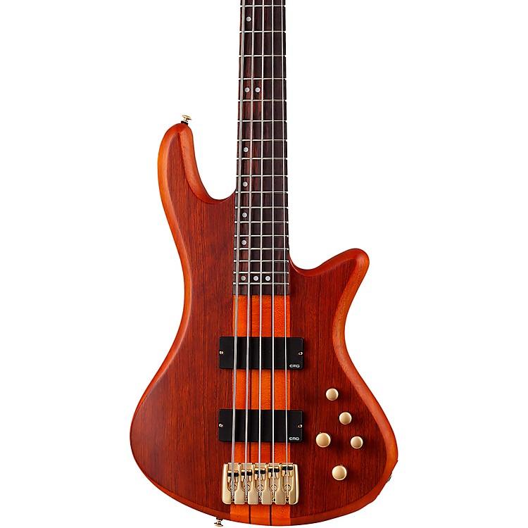 Schecter Guitar ResearchStiletto Studio-5 BassSatin Honey