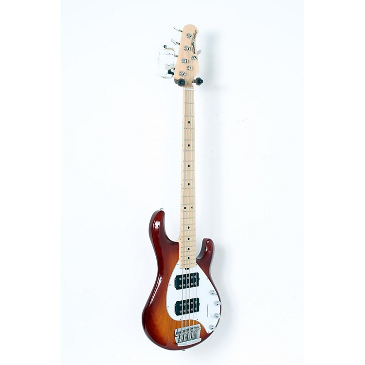 Ernie Ball Music Man Stingray 5 HH 5-String Electric Bass Honey Burst, Maple Fretboard 888365910062