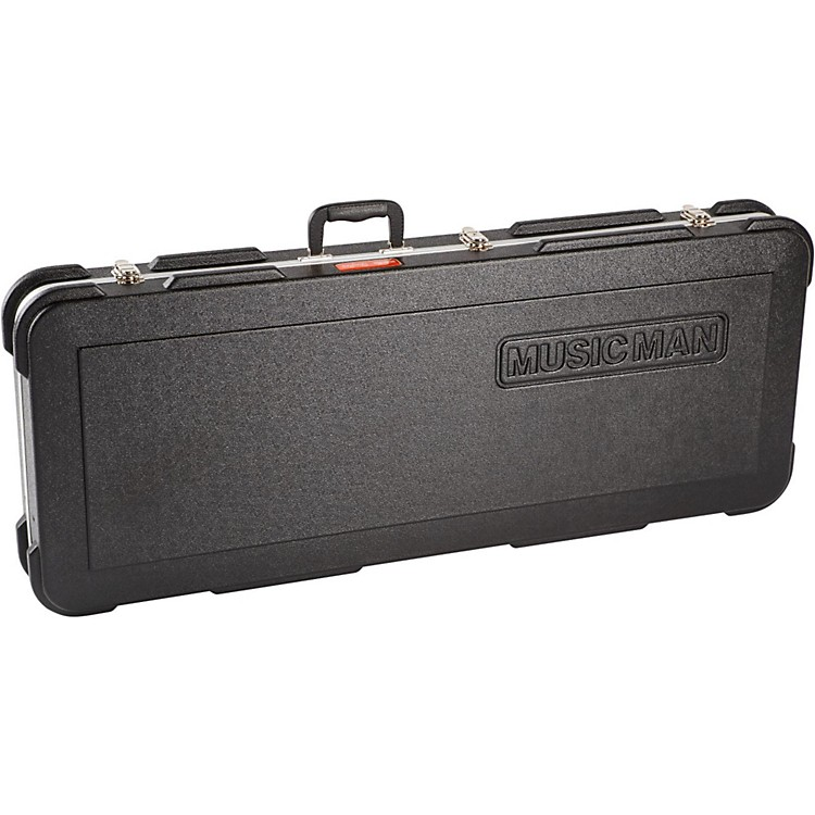 Ernie Ball Music Man Stingray Hardshell Guitar Case Black Black