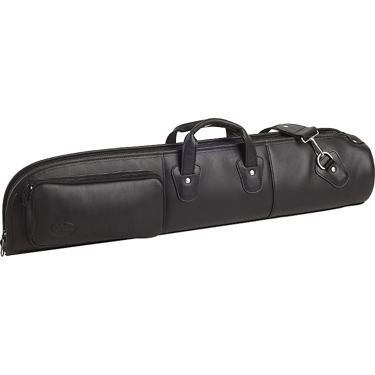 Reunion Blues Straight Leather Soprano Saxophone Bag Ebony