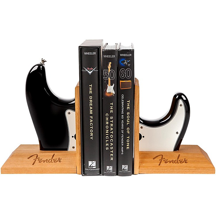 Fender Strat Body Bookend Assorted Colors