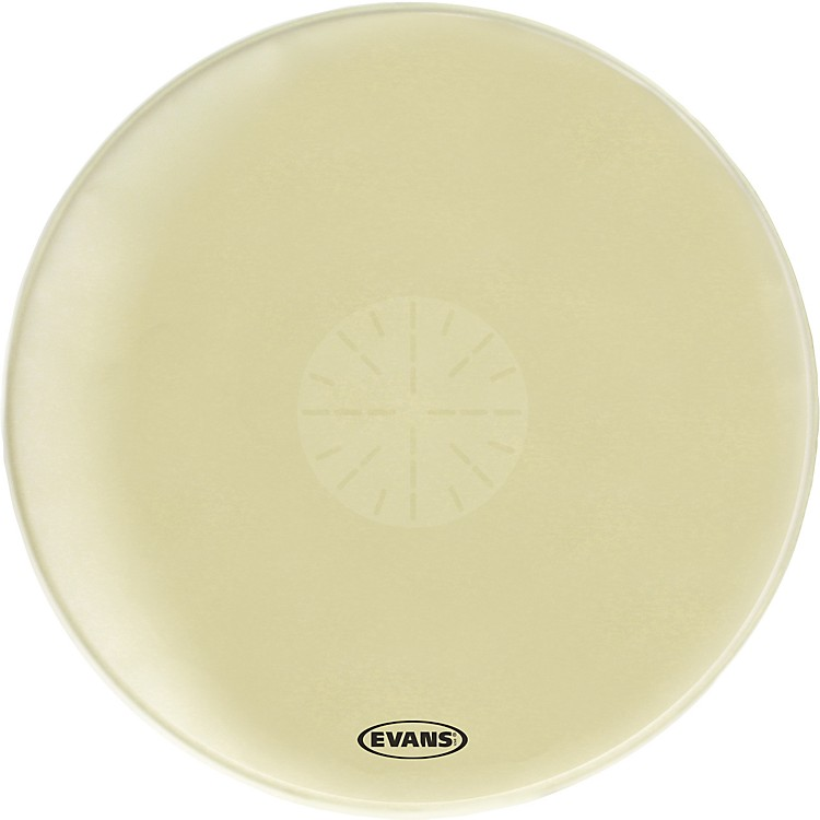 EvansStrata 1000 Orchestral-Bass Drumhead with Power Center Dot36 Inch