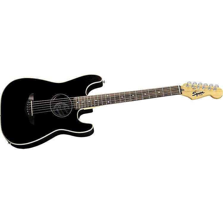 SquierStratacoustic Acoustic-Electric GuitarBlack