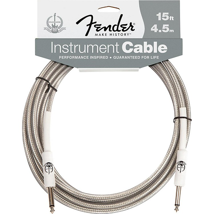 Fender Stratocaster 60th Anniversary Instrument Cable 15 Feet