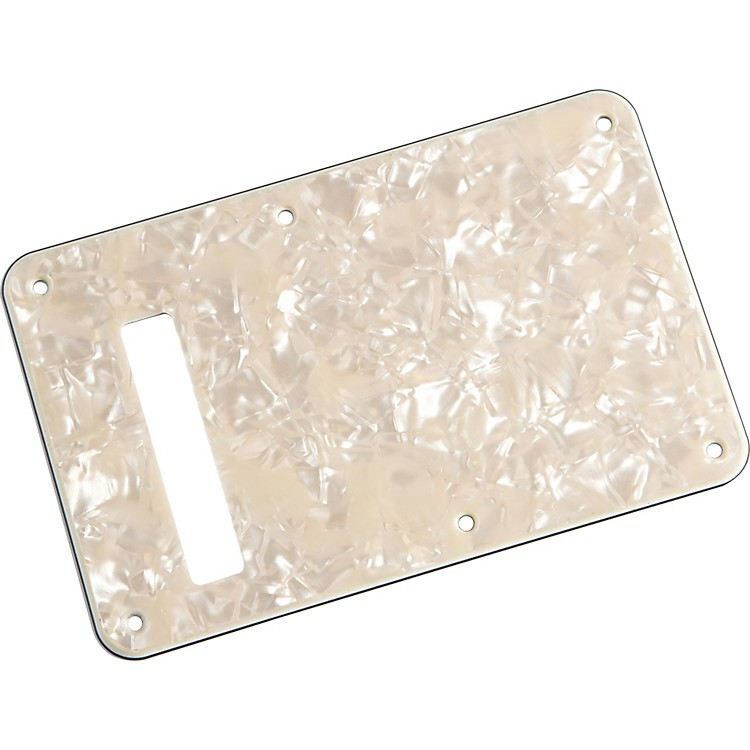 FenderStratocaster Backplate Aged White Pearl